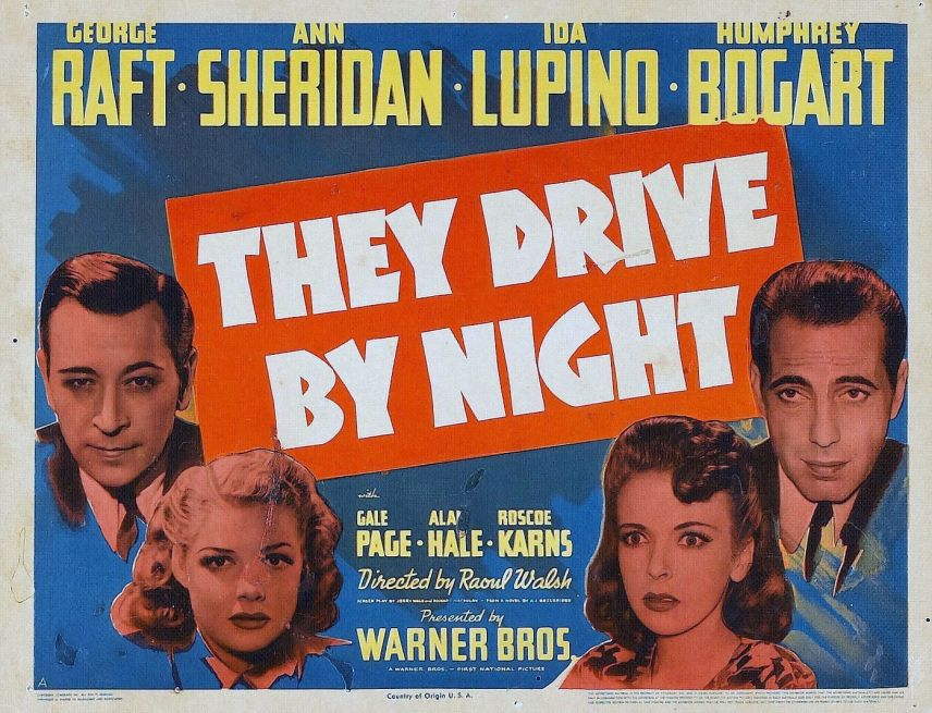 Image result for they drive by night 1940