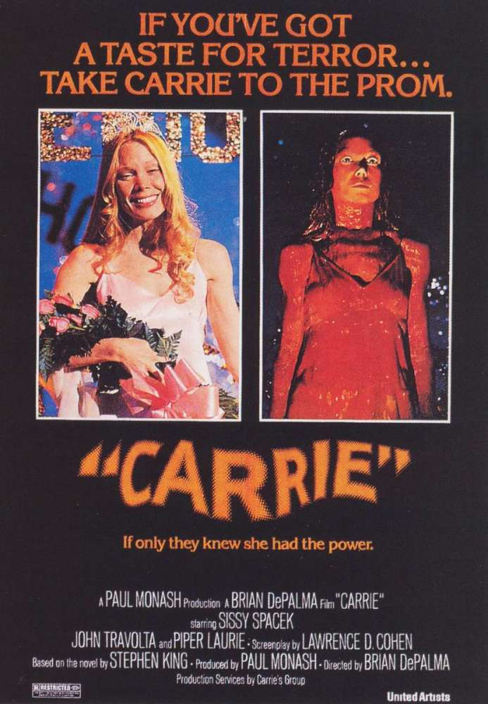 Book vs. Film: Carrie (5/5)
