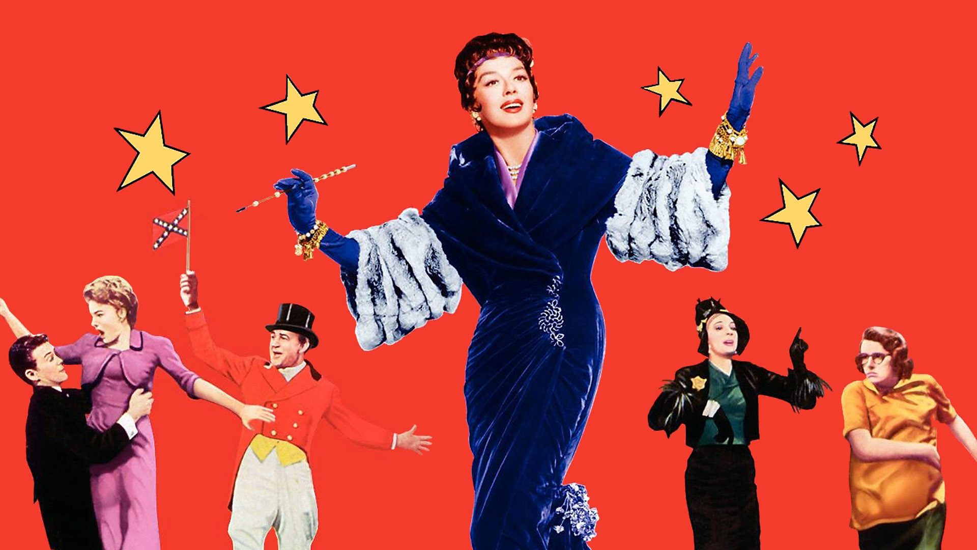 Image result for rosalind russell as auntie mame
