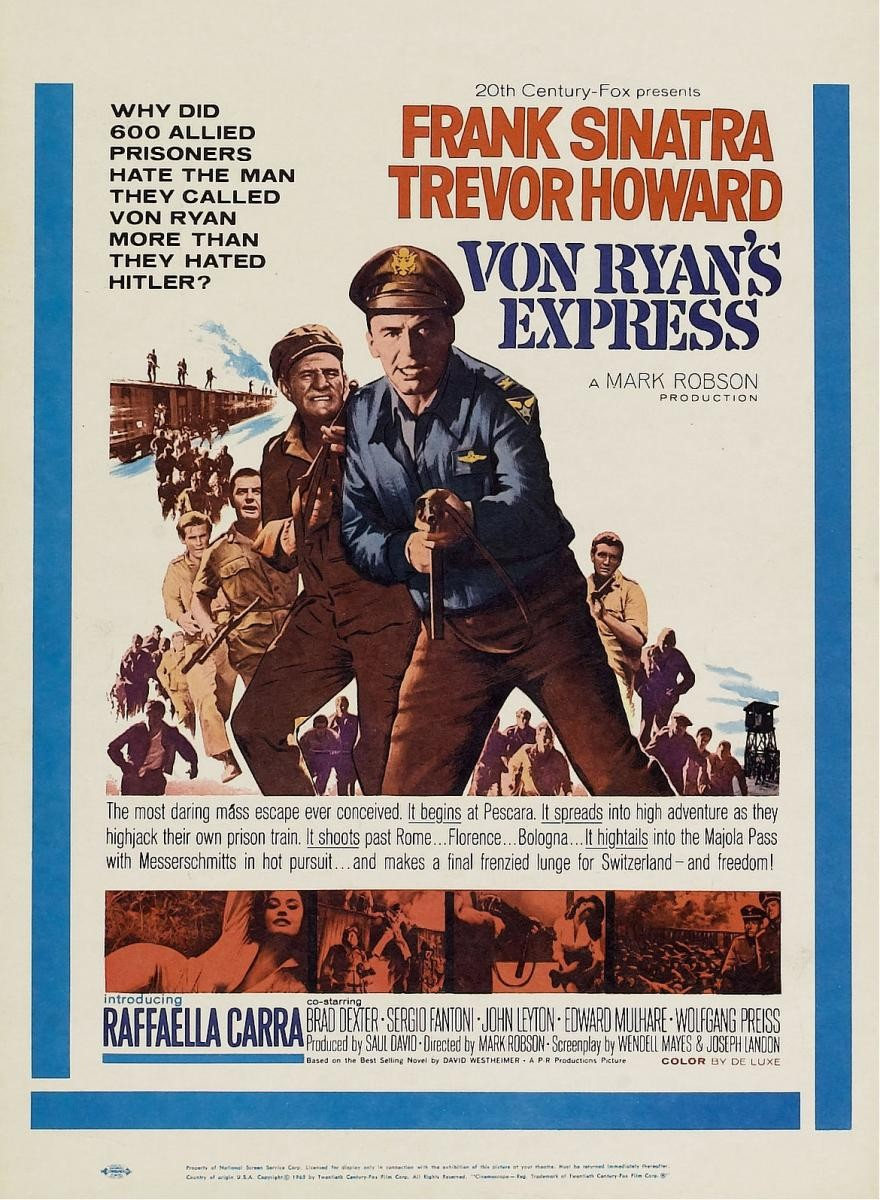 Von Ryan S Express 1965 The Motion Pictures