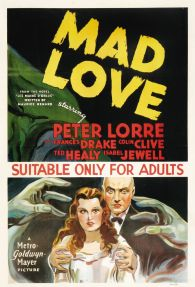 Image result for poste mad love 1935