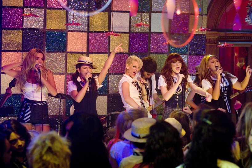 St. Trinian's follows the students of an all-girls school that is threatened with closing. Girls Aloud make an appearance as members of the school band. (Image: All Movie Photo)