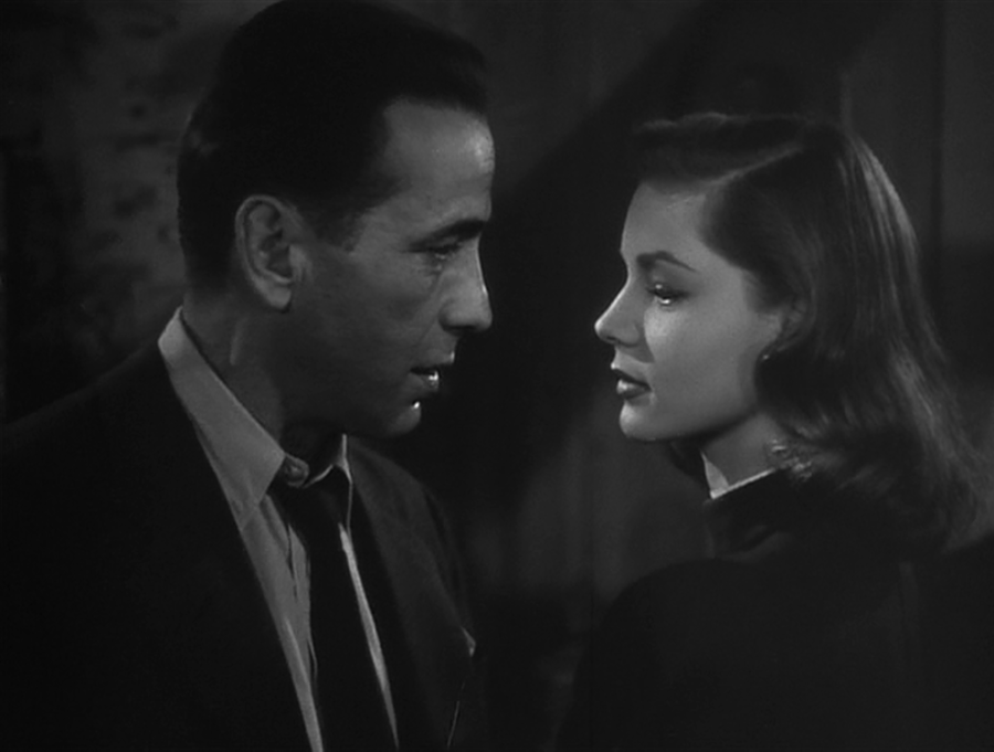Who doesn't love Bogie and Bacall? (Screen capture by Lindsey for TMP)
