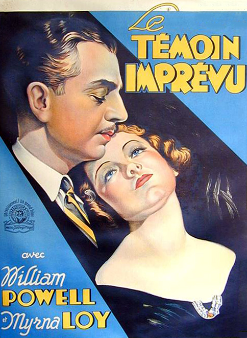 French poster for Evelyn Prentice (Image: Doctor Macro)