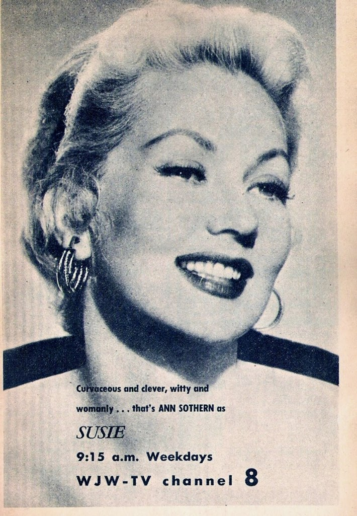 An advertisement from Private Secretary when it was re-run as Susie (Image: Cleveland Classic Media @ Blogspot)