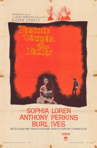 Promotional poster for Desire Under the Elms