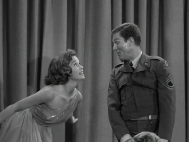 "Though none of my Dick Van Dyke Show ""Recap and React"" posts made the top five, the co-star of the series, Mary Tyler Moore, proved popular with TMP's readers! (Screen capture by Lindsey for TMP)"