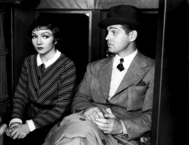 Claudette Colbert and Clark Gable for It Happened One Night (via Doctor Macro)