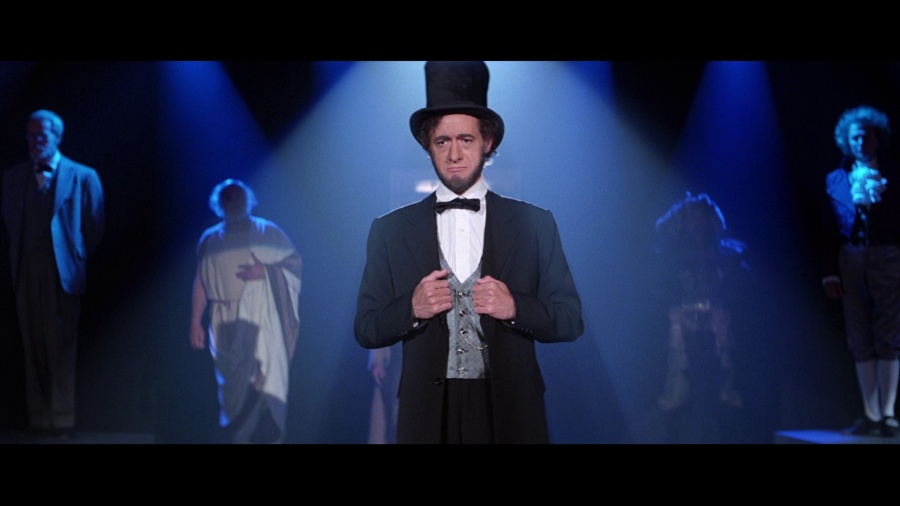 """""""Four score and... seven minutes ago, we, your four fathers, were brought fourth upon a most excellent adventure."""" (Image: Rock Shock Pop)"""
