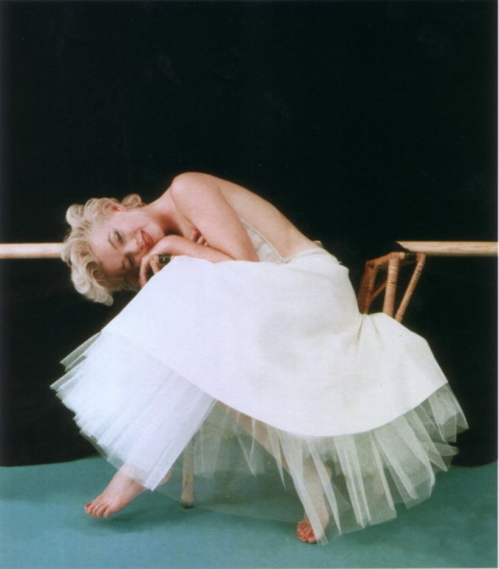Marilyn photographed by Milton Greene