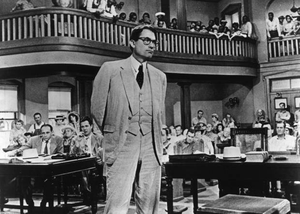 Gregory Peck for To Kill a Mockingbird (via Front Room Cinema)