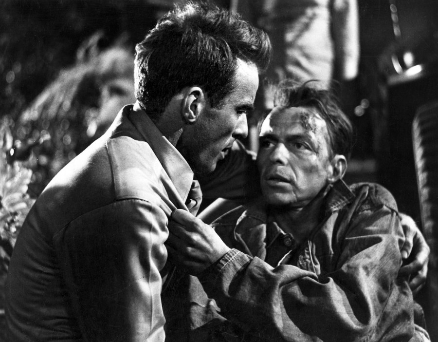 Monty Clift and Frank Sinatra, From Here to Eternity (Image: Classic Movie Chat)