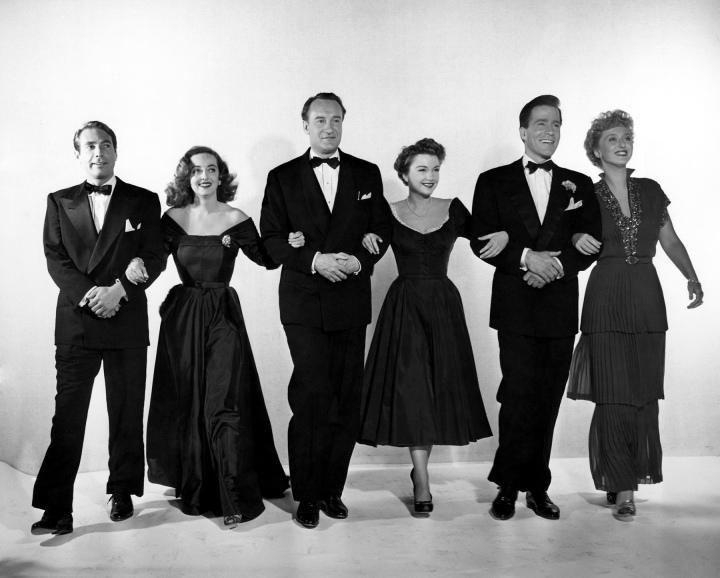 Publicity shot of the cast of All About Eve (Image: Little Bird Style)