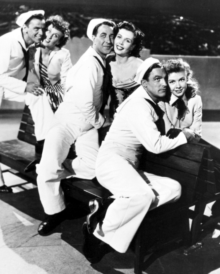 The lovely couples of On the Town (Image: A Movie Scrapbook)