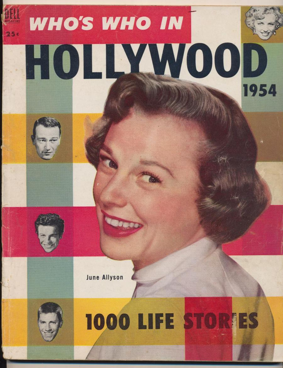 "Cover of the 1954 ""yearbook""-style magazine (Image: Inside Flipside)"