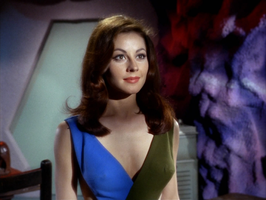 """Sherry Jackson found great success after her years as a child actress. Here, she makes an appearance in an episode of """"Star Trek."""" (Image: Radio Free Jericho)"""