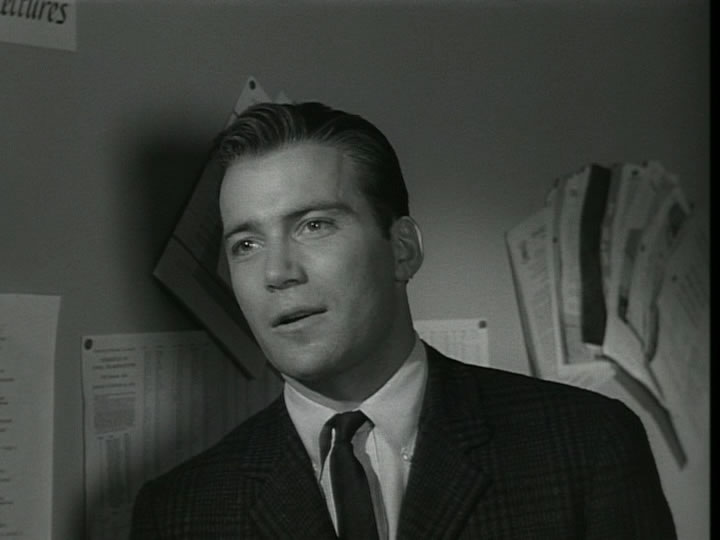 William Shatner as Peter (Image: avmaniacs)