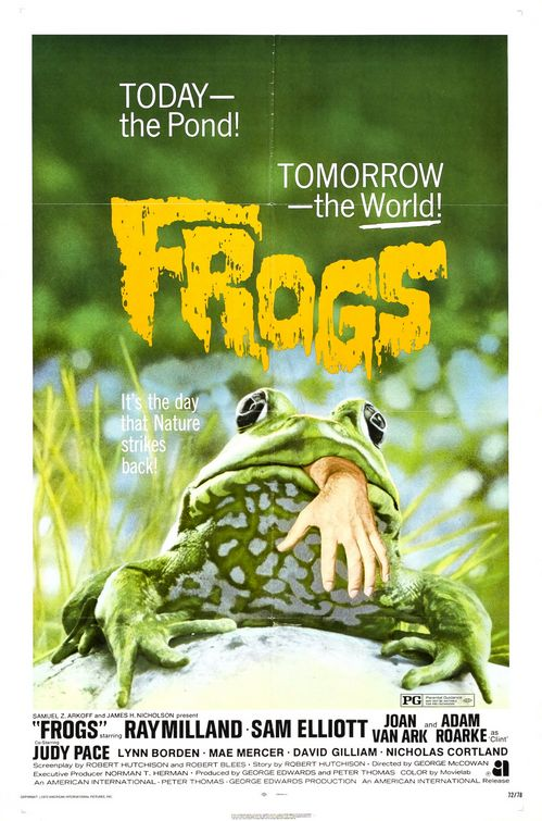 """Another great tagline: """"Today, the pond -- Tomorrow, the world!"""" (Image: nessuntimore.blogspot)"""