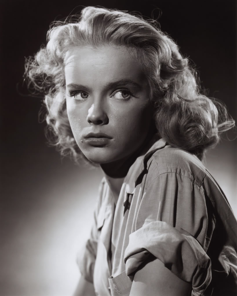 Anne Francis stars as an unwed mother planning on giving her baby up for adoption when she's sent to the reformatory. (Image: Richard Valley's Scarlet Street Forums)
