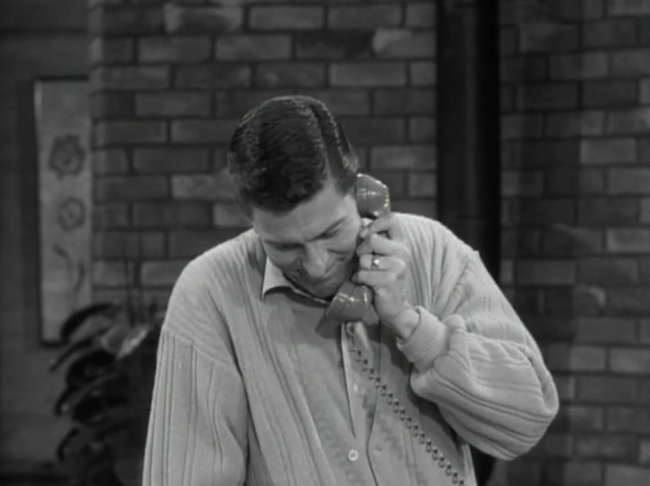 Rob gets very tired of fielding phone calls from overzealous stage moms who want him to help their kids win. (Screen capture by Lindsey for TMP)