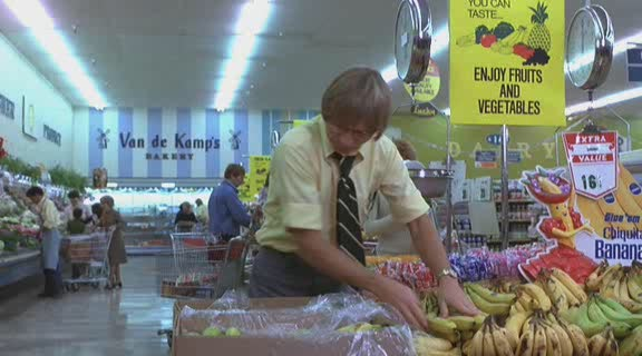 Eat your fruits and vegetables, or John Denver: Top Grocery Stock Boy will be very disappointed in you. (Image: veehd)