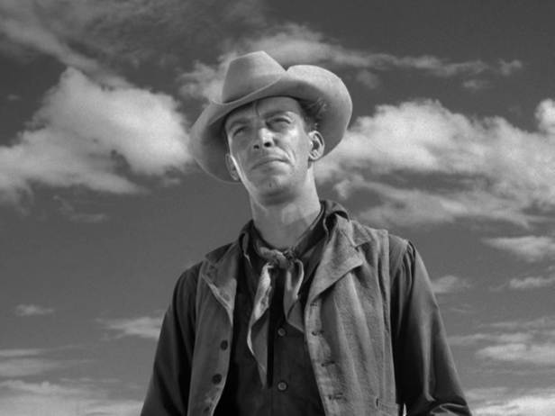 Skip in the television series 'Rawhide' (Image: Classic TV History)