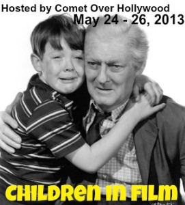This post is an entry in Comet Over Hollywood's fantastic Children in Films blogathon.