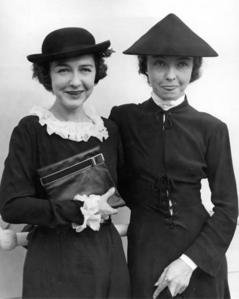 Dorothy and Lillian arrive in Paris in 1935, via A Certain Cinema