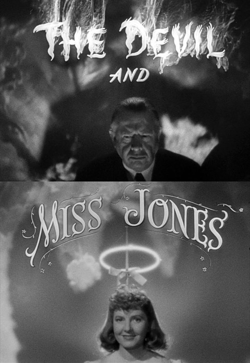 The Devil and Miss Jones (1941) – The Motion Pictures