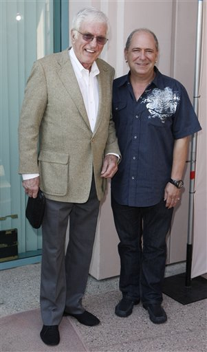 Dick Van Dyke and his TV son in 2009 (sulekha.com)