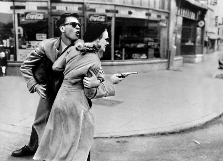 The '50s reigned this year, with films like one of my favorite re-watches of the year, Gun Crazy. (Image via filmforager.com)