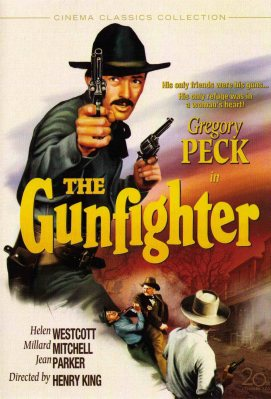 Gregory Peck stars in The Gunfighter -- one of my favorite Western discoveries. (Image via gmanreviews.com)