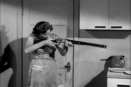 Carol's got a gun! (Image via Mudwerks)