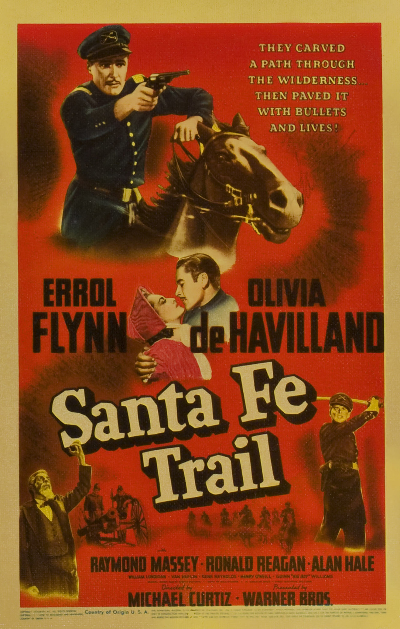 santa fe trail movie wwwpixsharkcom images galleries