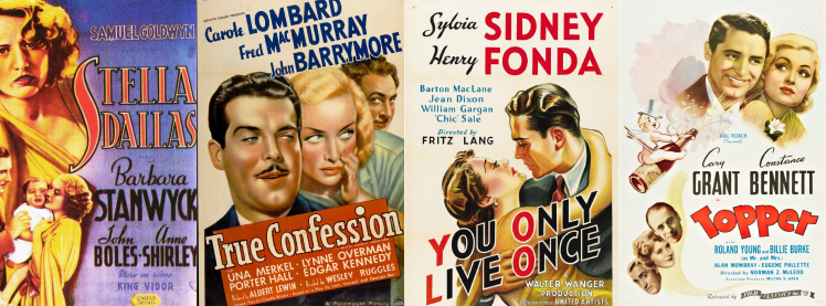 Posters for some of my favorite 1937 films!