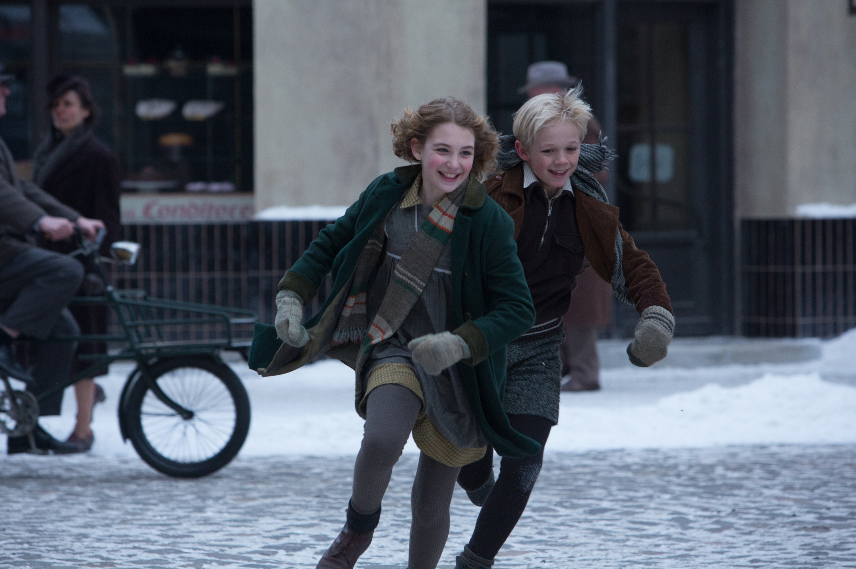 period film the book thief the motion pictures liesel and rudy image via we are movie geeks