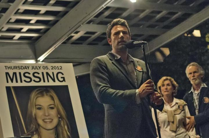 Ben Affleck in the first still to be released from Gone Girl (Image via film-book.com)