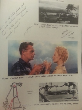 "A page from the annotated ""Continuity"" section of the book (Photo by Lindsey for TMP)"