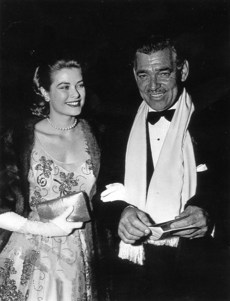 Grace and Gable look like a happy pair at the 26th Academy Awards. (Image via Grace and Family)