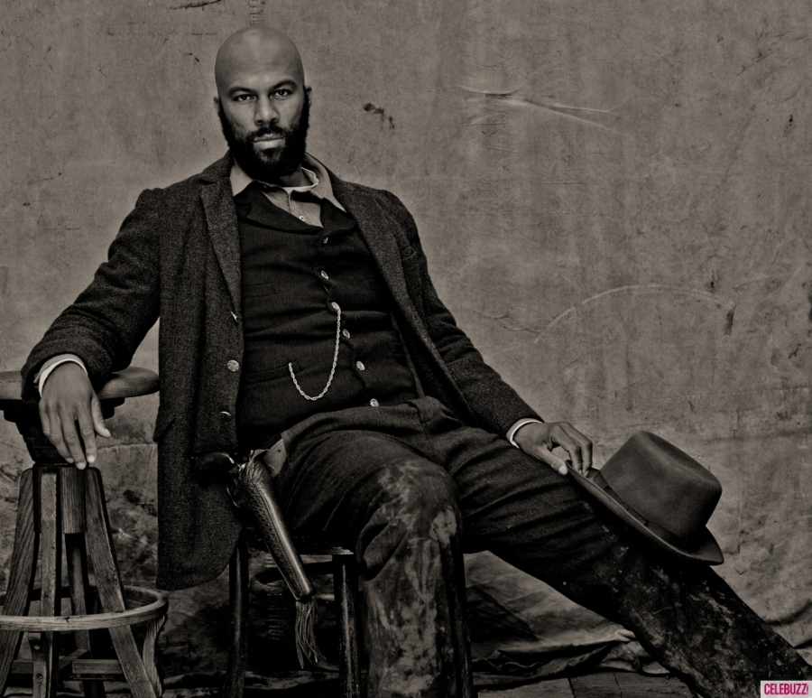 Common stars as Elam Ferguson. He was the first actor to be cast in the series. (Image via celebuzz.com)