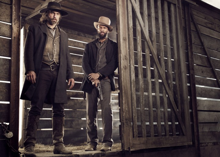 Anson Mount and Common star as Cullen Bohannon and Elam Ferguson (Image via Collider)