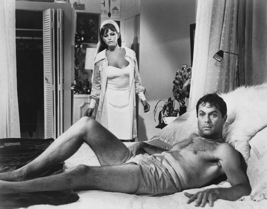 Tony Curtis and Claudia Cardinale (Image via The Sticking Place)