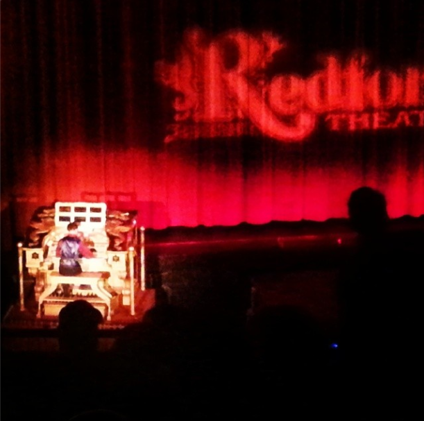 A few of my 58 theater trips were to the beautiful Redford Theatre, where I hope to catch a greater number of screenings in 2015! (Photo by Lindsey for TMP)