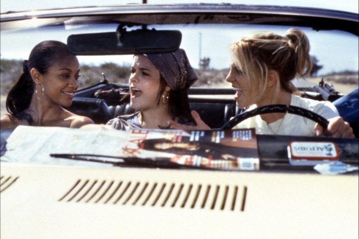 Road trip fun in Crossroads, one of my favorite cheesy teen films (Image via toutlecine.com)