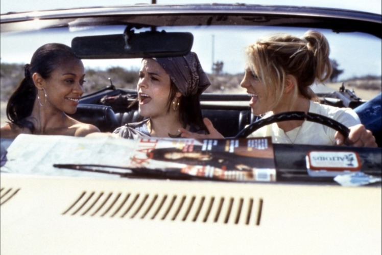 Road trip fun in Crossroads, one of my favorite cheesy teen films (Image via toutlecine.com)