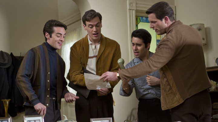 Jersey Boys got mixed reviews, but I loved it! (Image via Sky Movies)