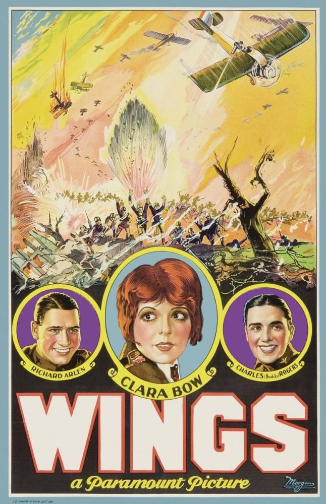 World War I in Classic Film: Wings (1927) (1/6)