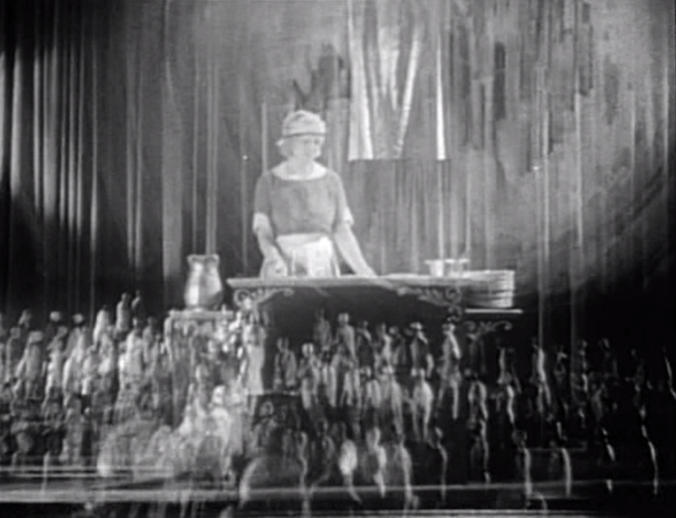 Hundreds of aspiring actresses/dancers make their way to New York. Some end up on the stage, some end up as maids. (Screen capture by Lindsey for TMP)