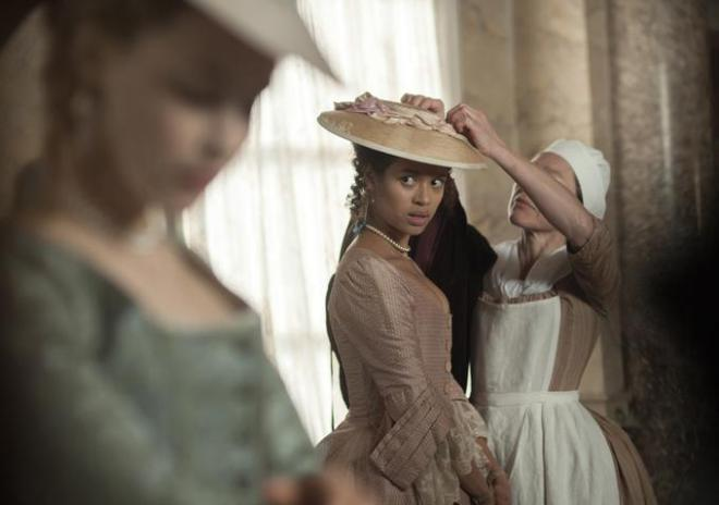 Gugu Mbatha-Raw lives up to the hype in Belle (Image via missbluestocking.wordpress.com)