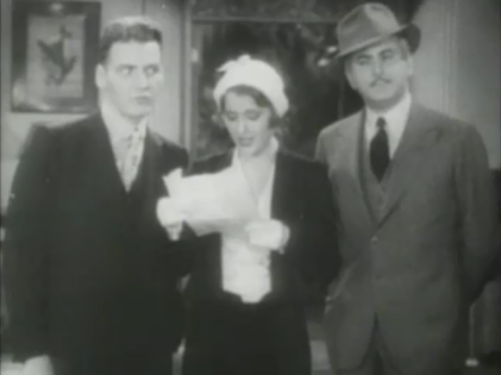 Stanwyck reads her poem. (Screen capture by Lindsey for TMP)